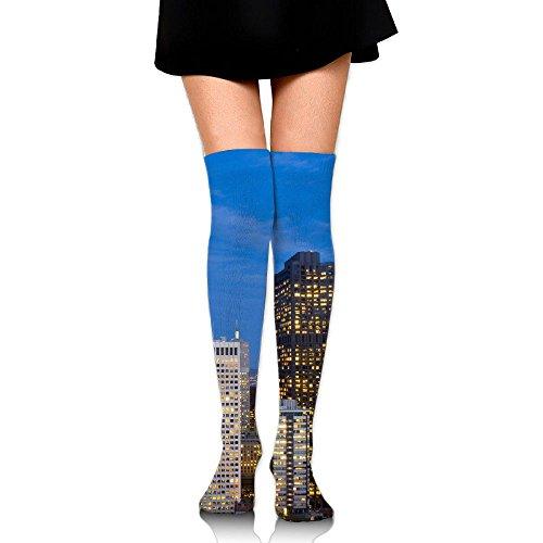 Santa Clara County New Homes High Socks Knee Socks Athletic Socks Fit Boosts Casual Solid & Fashion Socks For Girls & - Clara In Shopping Santa