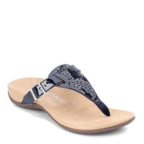 Vionic Women's, Rest Tropez Sandals Navy 8 M