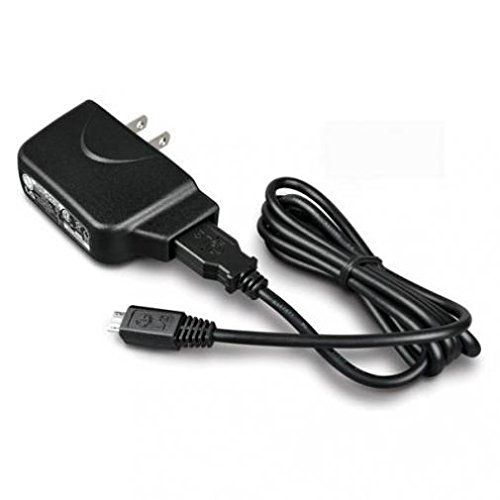- LG K8 V Compatible LG 2-in-1 Home Wall Travel Charger AC USB Adapter Data Cable Sync Wire Black