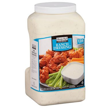 Daily Chef Dressing, Ranch, 128 Ounce