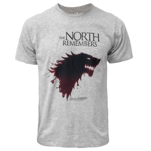 Game of Thrones The North Remembers T-Shirt Grey Large