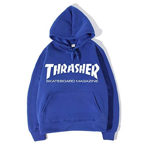 Hommes l Manches Sweatshirt Imprimé Des black2 À De Pull Velours Uniforme Capuchon Base Thrasher Zgdgg ball Le Longues Par XwqZUU