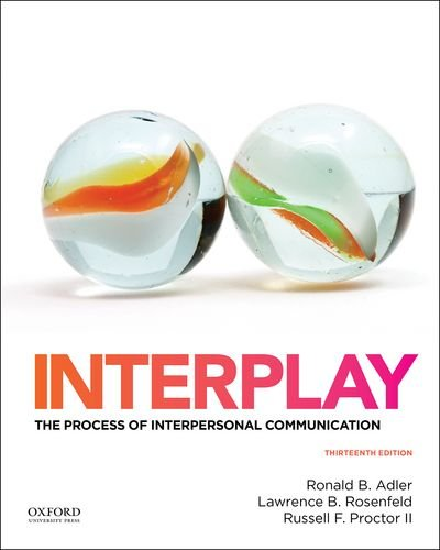 Interplay: The Process of Interpersonal Communication cover