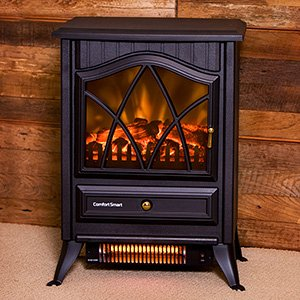 Amazon Com Comfort Smart 600 Sq Ft Infrared Fireplace Stove Cs