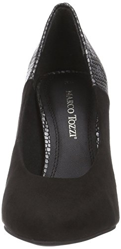 Nero 098 black Tacco Tozzi Col Donna Marco Comb Scarpe 22404 schwarz 4OqwWgU
