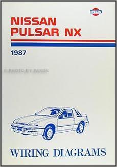 1987 nissan pulsar nx wiring diagram manual original nissan amazon 1987 nissan pulsar nx wiring diagram manual original cheapraybanclubmaster Choice Image