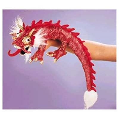 Folkmanis Puppets - 2357 - Marionnette et Théâtre - Small Red Dragon