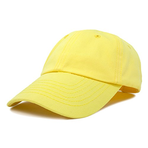 DALIX Kids Baseball Cap Childrens Hats Dad Hat Minion Yellow