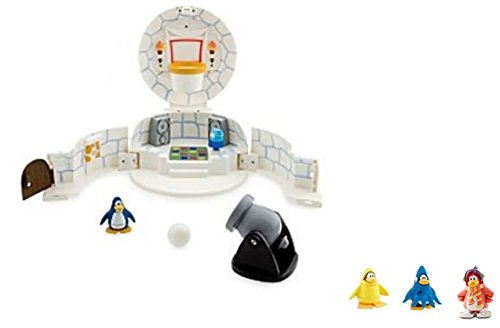 DELUXE Club Penguin Igloo Playset - Used But Still Penty of Disney Style FUN PLUS 2
