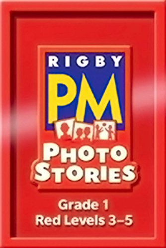 Rigby PM Photo Stories: Single Copy Collection Red (Levels 3-5)