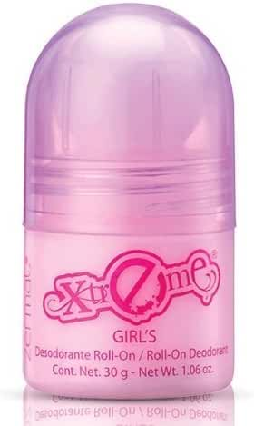 Zermat Roll-On Deodorant Xtreme for Girls, Desodorante para Niñas