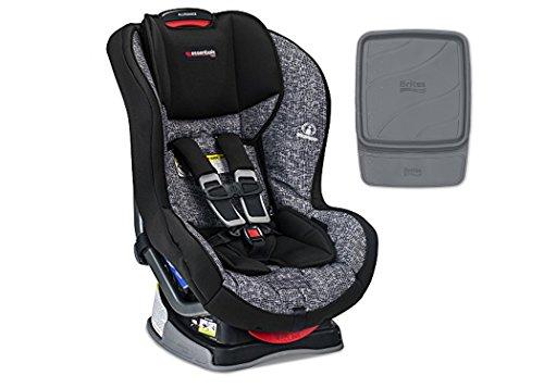 Britax Essentials Allegiance Convertible Car Seat, Static With Britax Vehicle Seat Protector Bundle