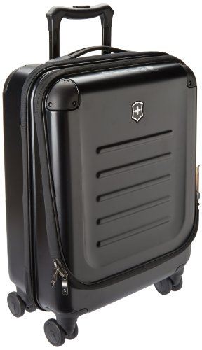 Victorinox Spectra 2.0 Dual-Access International Carry-On Hardside Spinner Suitcase, 21-Inch, Black ()
