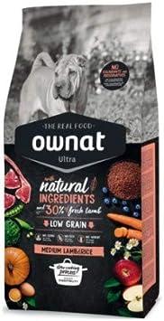 Ownat Ultra Medium Lamb 14kg: Amazon.es: Productos para mascotas