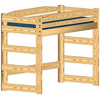Loft Bed Diy Woodworking Plan To Build Your Own Twin Size