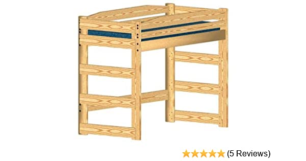 Loft Bed Diy Woodworking Plan To Build Your Own Twin Size Standard Loft