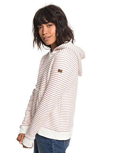 Roxy Mujer Erjft03818 Whitered Thin Stripe Sudadera Rose Con Prairie Capucha Para qBrUqYO