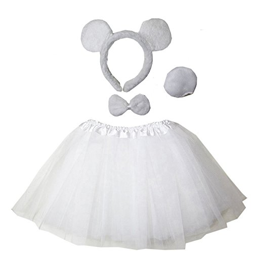 Kirei Sui Kids Costume Tutu Set Polar Bear]()