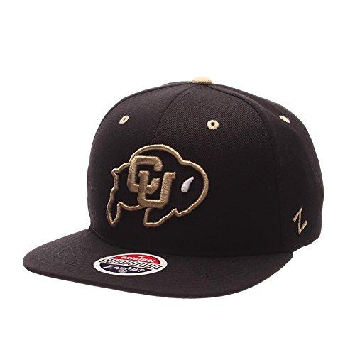 (Zephyr Men's Colorado Buffaloes Z11 ZWOOL HAT Black ADJ)