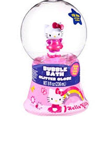 Bonjour Kitty bain moussant Glitter Globe