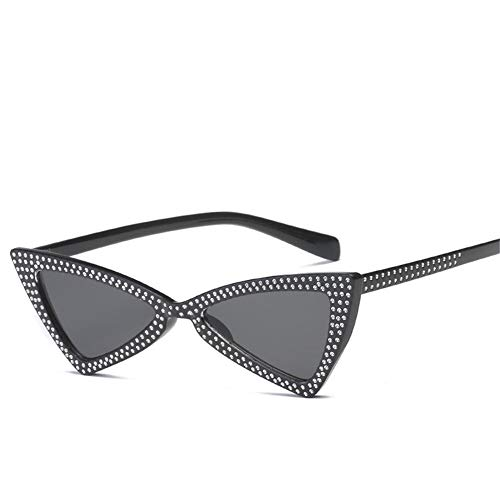 NIFG de oeil lunettes personnalité soleil Triangle lunettes soleil américaines de chat européennes et de A SUqS4xr1w