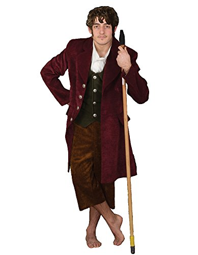 Deluxe Middle Earth Halfling Theater Costume, XLarge (Adult Hobbit Costume)