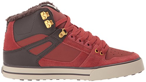 Spartan Wc Baskets Café High Shoes Dc Homme Mode 4Pzq5Z