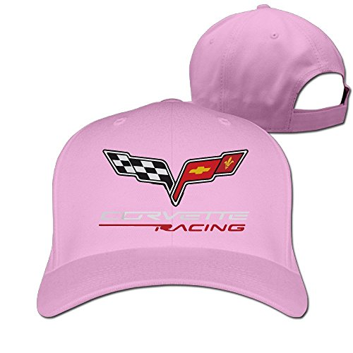 Price comparison product image Outdoor Sport Extreme Sports MOTTO CORVETTE RACING Ajustable Hunting Peak Cap Hat Pink