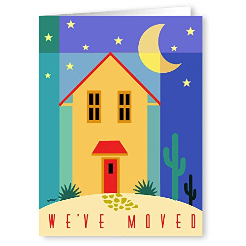 (We've Moved Note Card - 18 Boxed Cards & Envelopes - Change of Address)