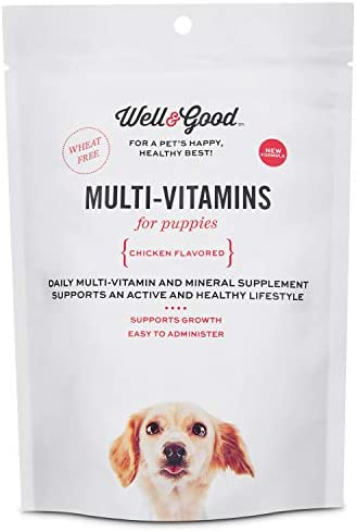 Well Good Puppy Stage Daily Soft Chews Dog Vitamins, 60 Count