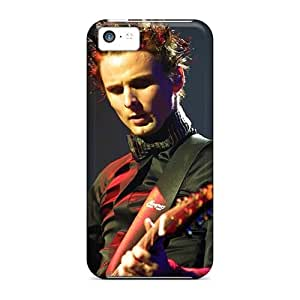 Iphone 5c WPH3045SIlm Support Personal Customs Stylish Muse Series Perfect Hard Cell-phone Case -DrawsBriscoe