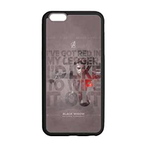 the Case Shop- Avengers 2 Avengers2 Age of Ultron Super Hero Black Widow TPU Rubber Hard Back Case Silicone Cover Skin for iPhone 6 Plus 5.5 Inch , i6pxq-585
