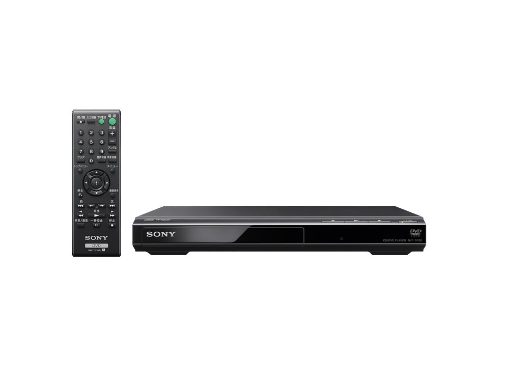 Sony DVD Player (CPRM compatible) DVP-SR20