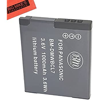 BM Premium DMW-BCL7 Battery for Panasonic Lumix DMC-SZ3, DMC-SZ8, DMC-SZ10, DMC-XS1, DMC-FH10, DMC-F5 Digital Camera