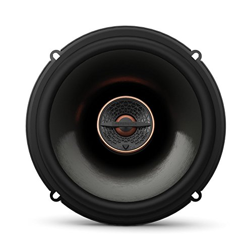 Infinity REF6522IX 6.5″ 180W Reference Series Coaxial Car Speakers With Edge-driven Textile Tweeter, Pair