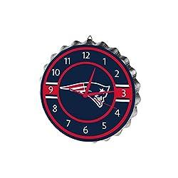 New England Patriots Bottlecap Clock