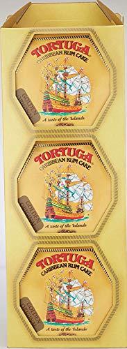 (TORTUGA Caribbean Original Rum Cake with Walnuts - 4 oz. - 6 Pack - The Perfect Premium Gourmet)