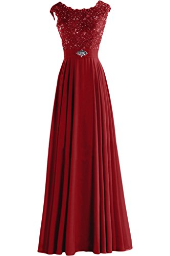 Sunvary Vintage Lace and Chiffon Maxi Evening Mother of t...