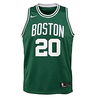 Nike NBA Boston Celtics Gordon Hayward 20 2017 2018 Icon Edition Jersey Official, Camiseta de Niño