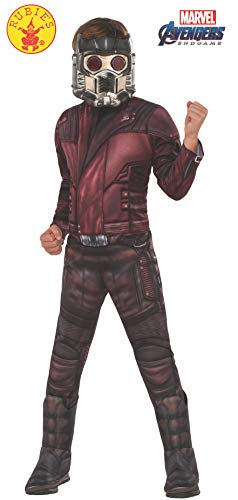 Rubie's Marvel Avengers: Endgame Child's Deluxe Star-Lord Costume & Mask, Large]()