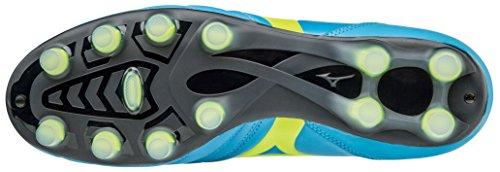 Zapatos de fútbol Mizuno Morelia Neo KL MD azzurro-giallo p1ga165444 turquesa