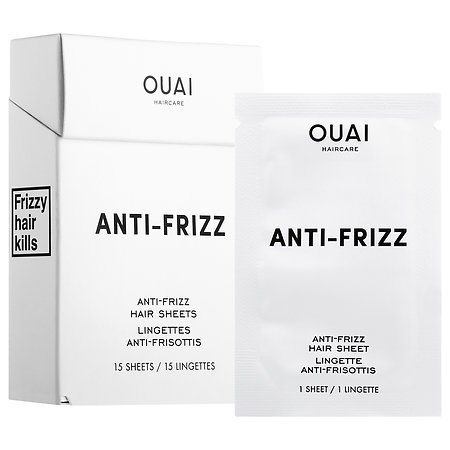 The Best Hair Products For Each Hair Type | OUAI Anti - Frizz Hair Sheets | Hairstyle on Point