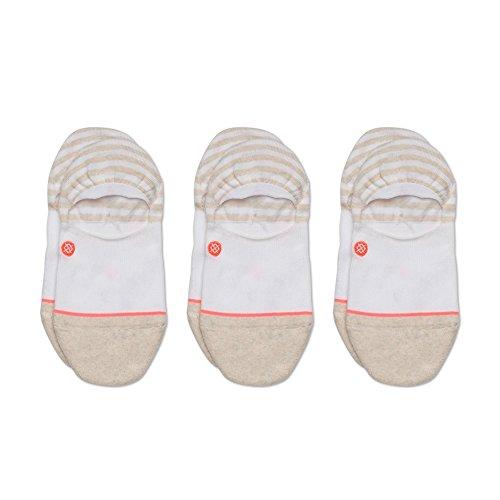 Stance Women's Uncommon Invisible Liner Socks (1 & 3 Packs), White, Medium from Stance