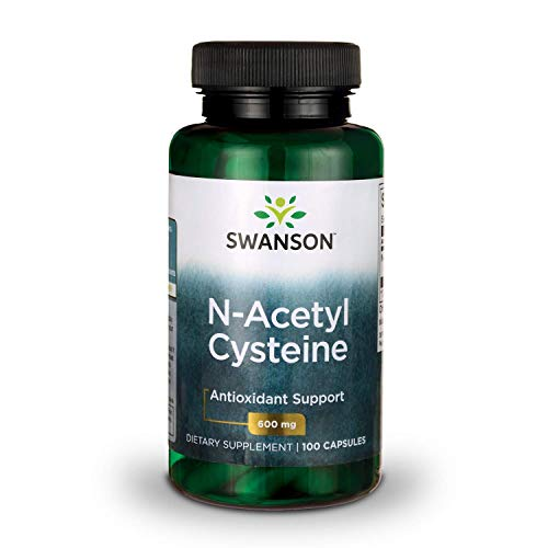 Swanson NAC N-Acetyl Cysteine Antioxidant Anti-Aging Liver Support & Amino Acids Supplement 600 mg 100 ()