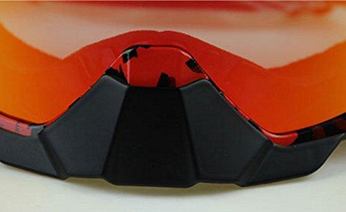 PC e de Parabrisas Todoterreno Material a Impermeable Prueba Prueba Ciclismo Polvo K de explosiones Gafas IBqY8ax8