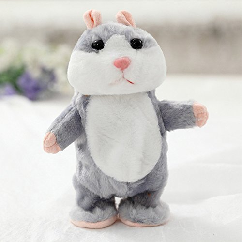 Lovely Talking Plush Hamster Toy, Can Change Voice,Early Edu