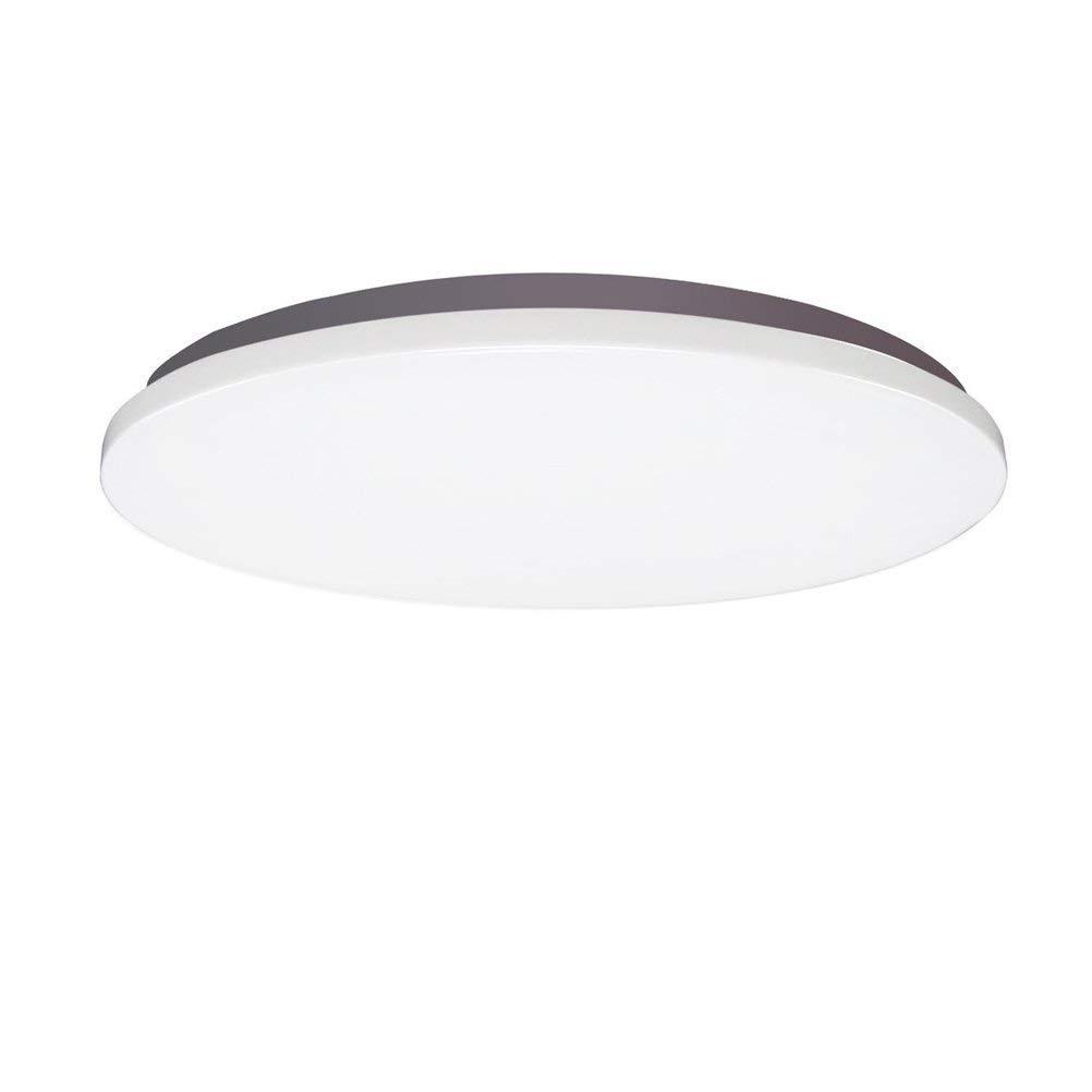 Eeayyygch Ultradünne kreisförmige LED Deckenleuchte Schlafzimmer Wohnzimmer Lichter Moderne Einfache Balkonlampe Korridor Gang Küche Raumbeleuchtung, 38 cm 24 Watt (Farbe   38cm 24w)