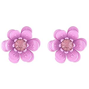 Flying Jewellery Stud Earrings, Push Closure - [CGE19]