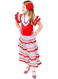 MI HIJA Y YO Vestido Traje Flamenca niña bebé (Desde 1 Mes ...