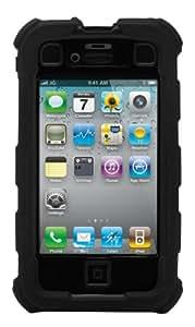 Ballistic HA0694-M005 - Carcasa rígida resistente para iPhone 4 y 4S, color negro